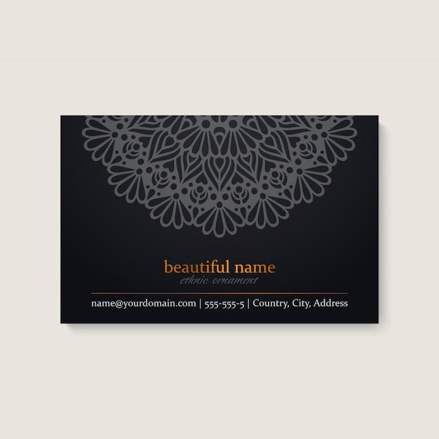 Visitekaartje Premium Vector