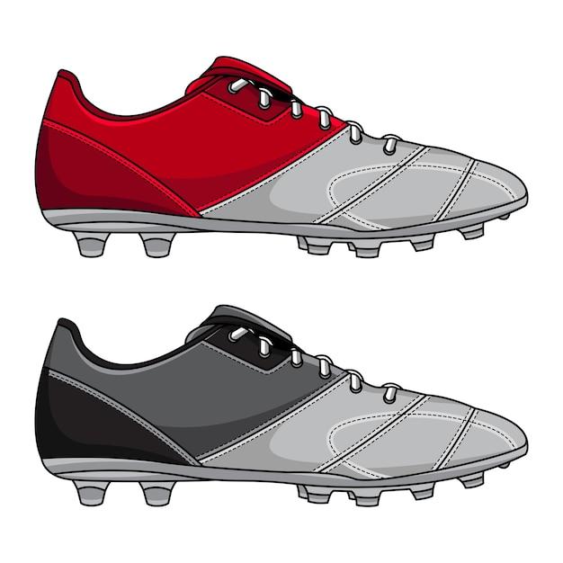 Voetbalschoenen Premium Vector