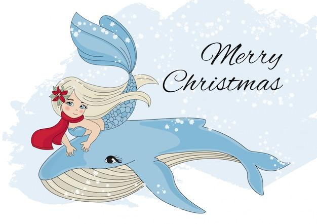 Vrolijke kerstmis vakantie nieuwjaarskleur Premium Vector