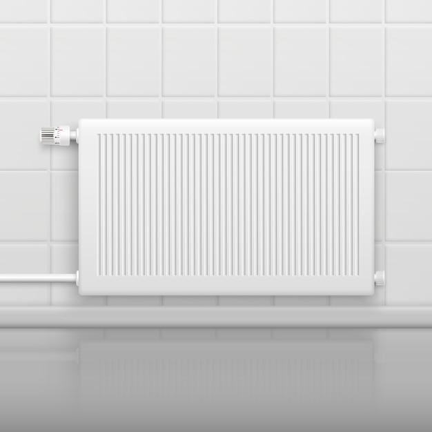 Warm waterradiator Gratis Vector
