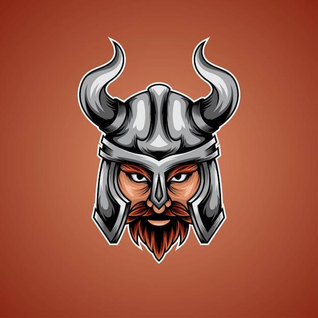 Warrior viking Premium Vector