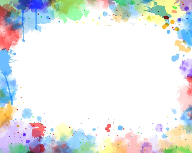 Water kleur achtergrond Premium Vector