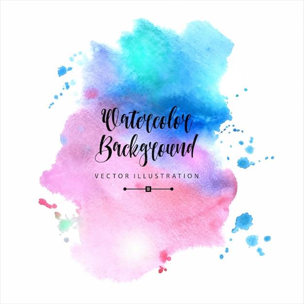 Waterverf abstracte achtergrond vector gratis download for Google paint online