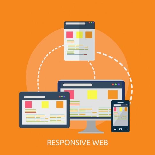Web achtergrond ontwerp Gratis Vector
