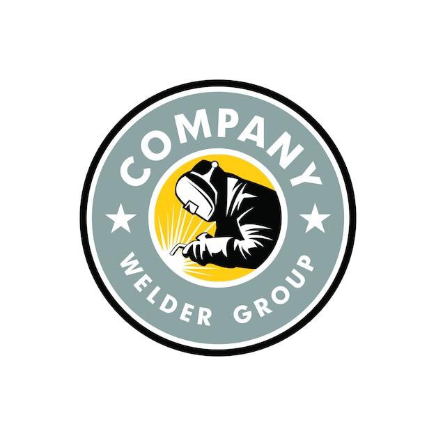 Welder logo | Premium Vector