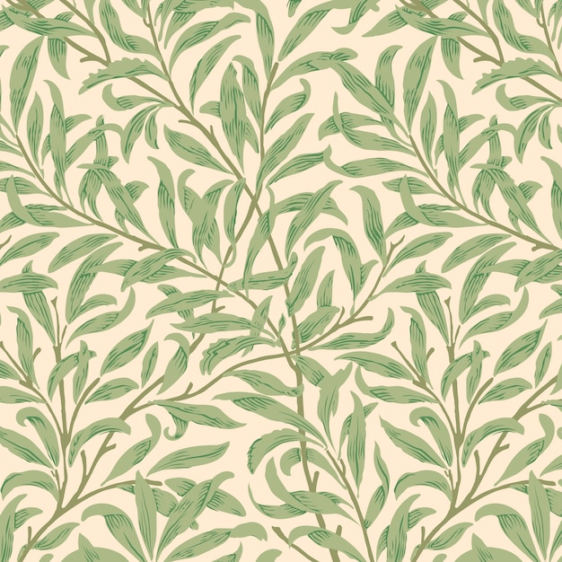 Willow bough van william morris Gratis Vector
