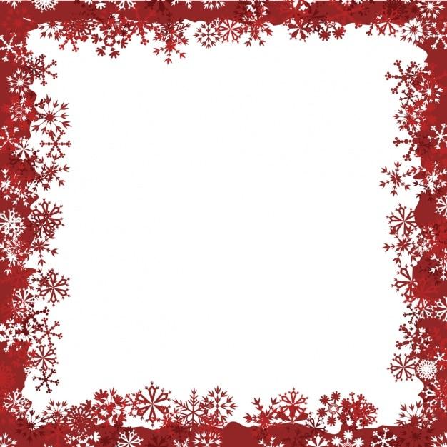 Winter frame design Vector | Gratis Download