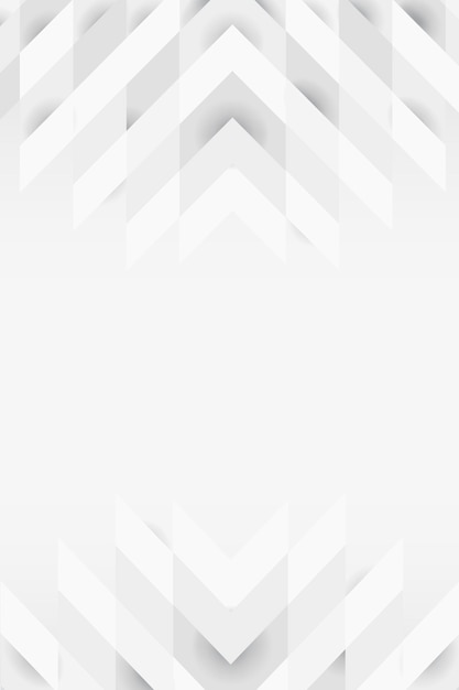 Wit 3d modern ontwerp als achtergrond Gratis Vector