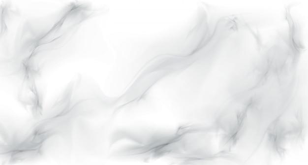 Wit grijs marmer realistische textuur achtergrond Gratis Vector