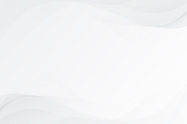 Witte abstracte achtergrond Gratis Vector