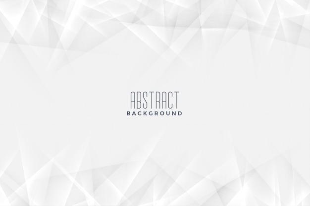 Witte achtergrond in abstracte stijl Gratis Vector