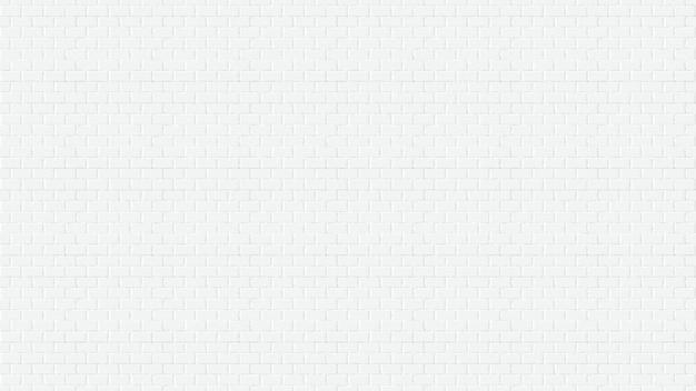 Witte bakstenen muurwebpagina het schermgrootte illustratie als achtergrond Premium Vector