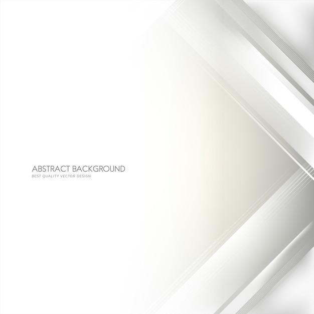 Witte en grijze gradiënt abstracte achtergrond Gratis Vector