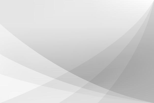 Witte en zilveren abstracte achtergrond vectorillustratie Premium Vector