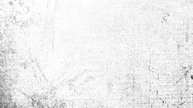 Witte grunge verontruste textuurvector Gratis Vector