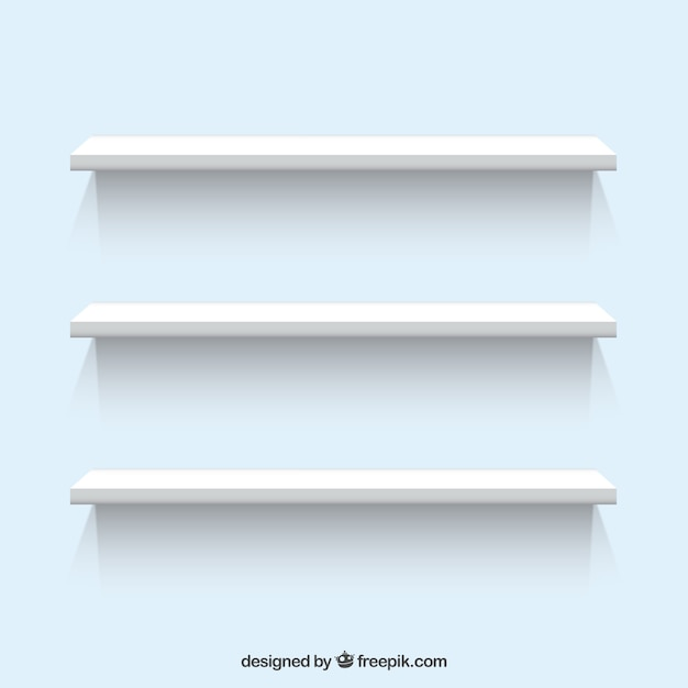 Witte planken Gratis Vector