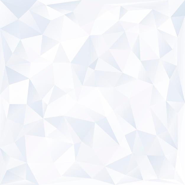Witte prisma achtergrond ontwerp vector Gratis Vector