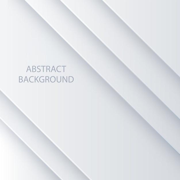 Witte vector abstracte achtergrond Premium Vector