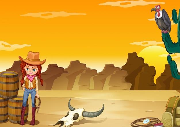 Woestijn Gratis Vector