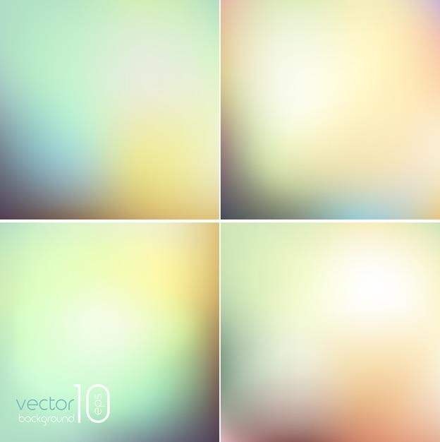 Zacht gekleurde abstracte achtergrond voor Premium Vector