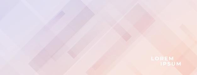 Zachte kleurenachtergrond met diagonaal lijneneffect ontwerp Gratis Vector