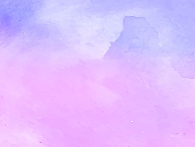 Zachte violet aquarel textuur ontwerp vector Premium Vector