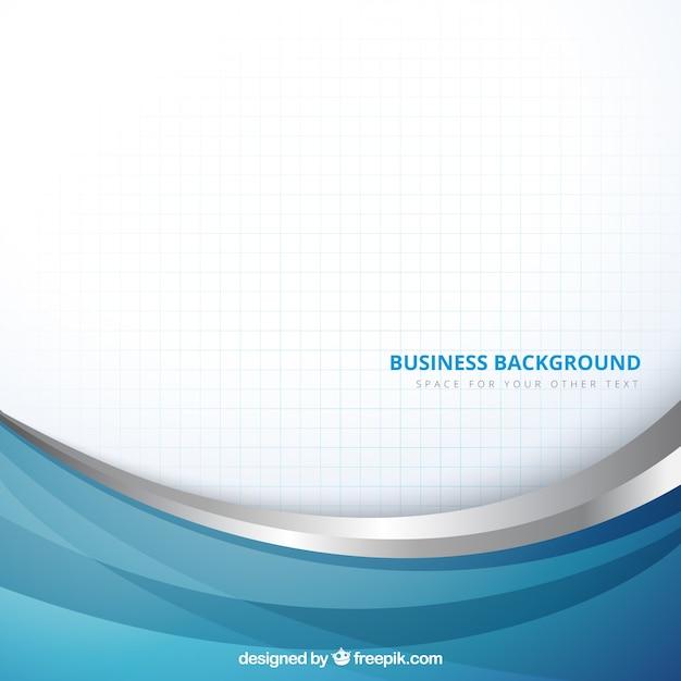 zakelijke achtergrond in abstracte stijl Premium Vector