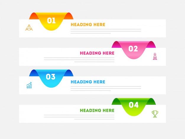 Zakelijke infographic. Premium Vector