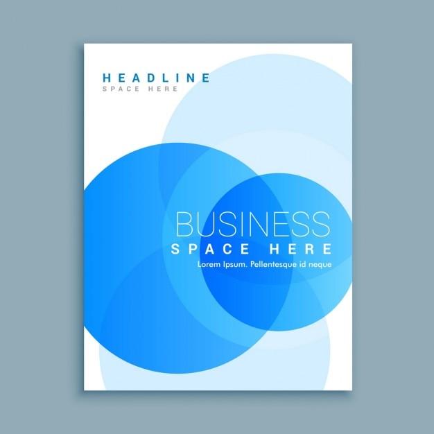 Zakelijke Voorblad Brochure Sjabloon Vector Gratis Download