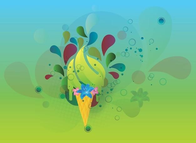zomer vector afbeelding Gratis Vector
