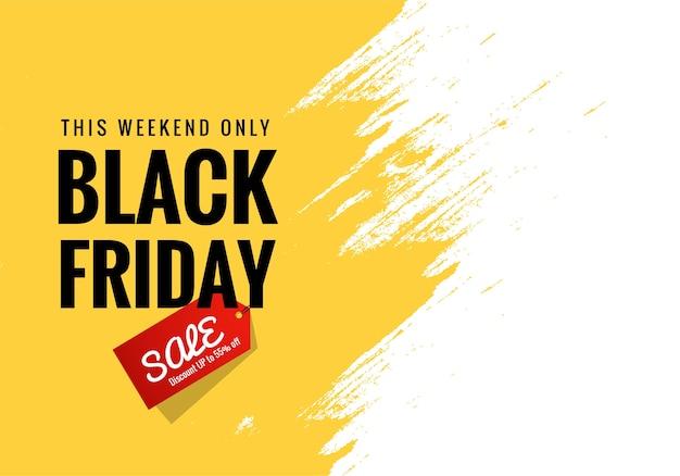 Zwarte vrijdag aankondiging verkoop Gratis Vector