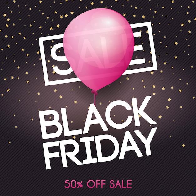Zwarte vrijdag. uitverkoop. kan gebruikt worden voor website en mobiele website banners, web, posters, e-mail en nieuwsbrief Premium Vector