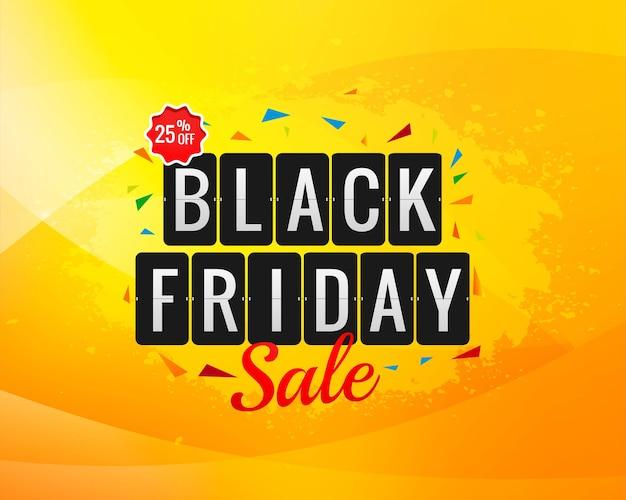 Zwarte vrijdag verkoop banner voor poster achtergrond Gratis Vector