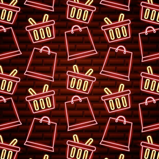 Zwarte vrijdag winkelen verkoop Gratis Vector